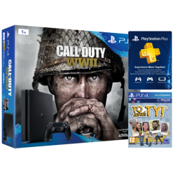 Konsola PS4 1TB Slim + Gra CALL OF DUTY: WWII + To Jesteś Ty Voucher + PS Plus 14 dni