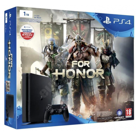 Konsola PS4 1TB Slim + Gra For Honor
