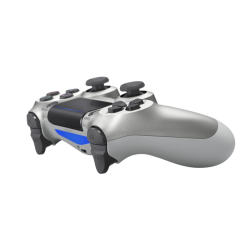 Kontroler DUALSHOCK 4 srebrny V2 - dualshock 4, dualshock, konsola playstation, playstation konsola, playstation 4, konsola playstation 4, playstation 4 pro