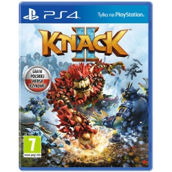 Gra PS4 KNACK 2 PL- gra ps4, gry na playstation, gry playstation, gry ps4
