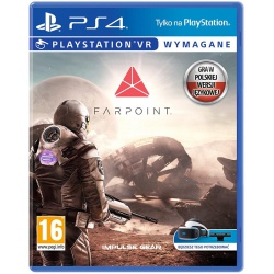 Gra PS4 VR Farpoint - gry vr ps4, gra ps4, gry na playstation, gry playstation, gry ps4, solpol