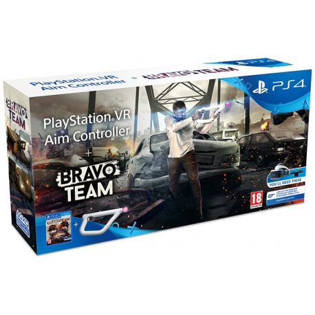 Gra PS4 Bravo Team PL + Kontroler AIM