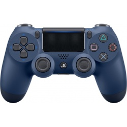 Kontroler DUALSHOCK 4 Midnight Blue V2 - dualshock 4, dualshock, konsola playstation, playstation konsola, playstation 4, konsola playstation 4