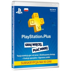 Karta Sony Playstation Plus PSN 365 dni