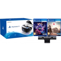 Sony PlayStation VR + Kamera V2 + VR World + Gra Farpoint