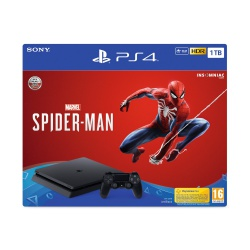 Konsola PS4 1TB Slim z grą Spider-Man