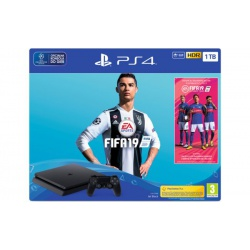 Konsola SONY PlayStation 4 1TB + Gra Fifa 19 - playstation 4, gra ps4, konsola ps4, gry ps4, konsola playstation, playstation konsola, konsola playstation 4